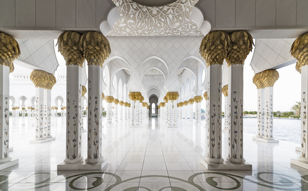 abudhabi: Sheikh Zayed Grand Mosque (Abu-Dhabi, UAE)