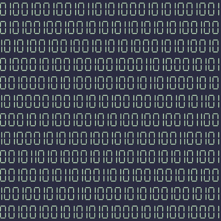 cryptogram: detailed illustration of a seamless binary code background