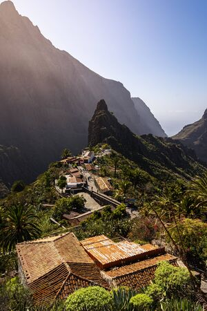 beatiful view over the small village of Masca in the nothern part of Tenerife, Canary Islands, Spain Reklamní fotografie