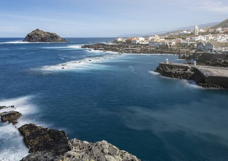 panoramic view over Garachico Village on Tenerife, Canary Islands, Spain Reklamní fotografie