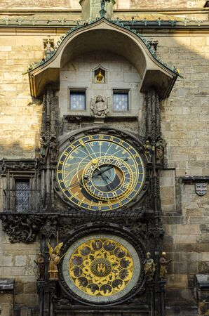 Astronomical Clock (Orloj) in the Old Town Square in Prague, Czech Republic, Europe