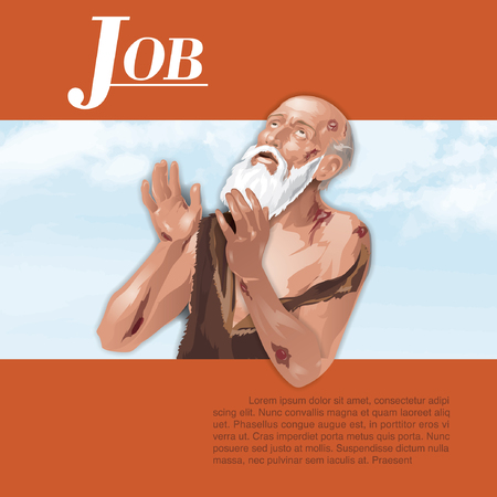 Illustrator of Job in Holy Bible