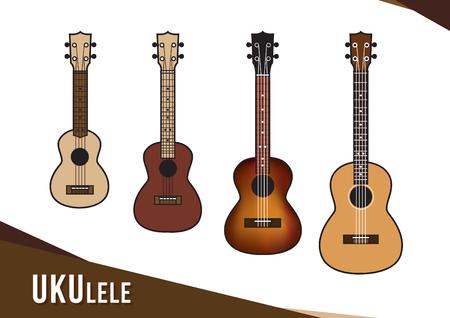 Illustration of ukulele