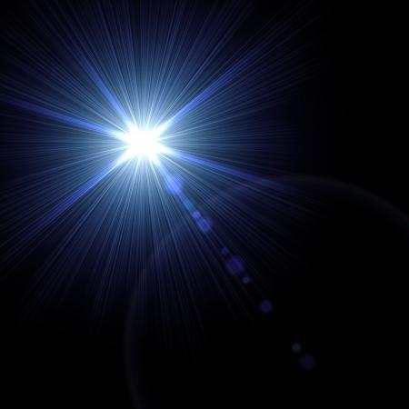 Lumi�re flare illustration particuli�re vecteur effet