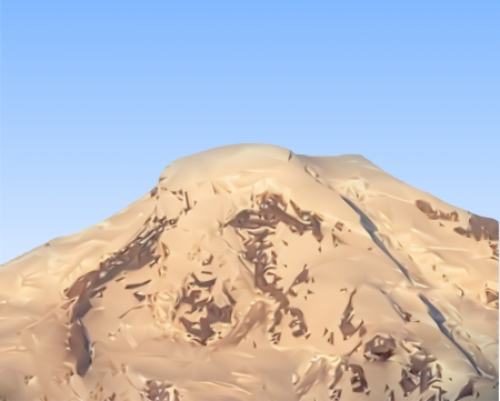 mountain vector Vector