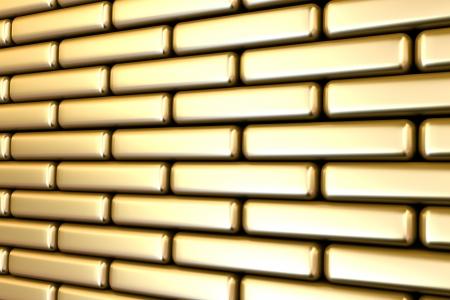 gold bricks  photo