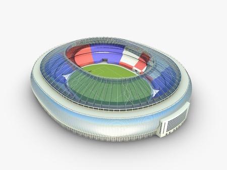 arena: sport arena  stadium 3d illustration