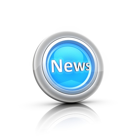 News Button Stock Photo - 18481371