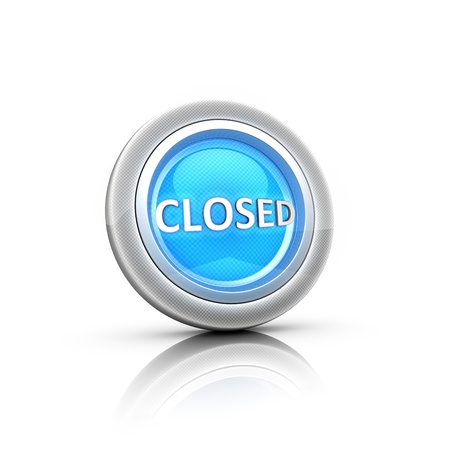 Open and closed lock buttons Stock Photo - 18481375