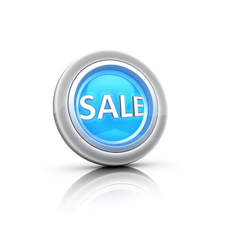 Hot sale - button label  Stock Photo - 18481566