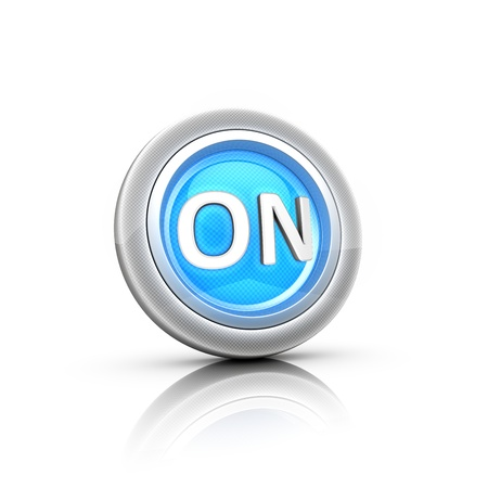 power  button Stock Photo - 18481648