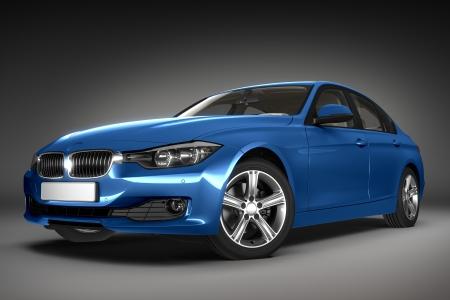 shiny car: Sportwagen 3d render