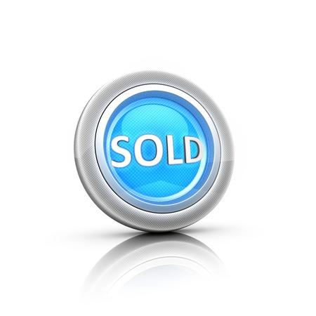 Hot sale - button label Stock Photo - 19091135