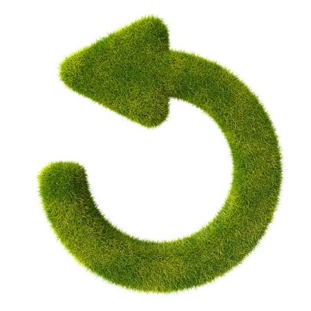 Refresh grass icon photo