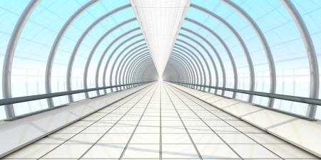 endless vanishing walkway photo