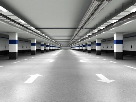 Un parking souterrain