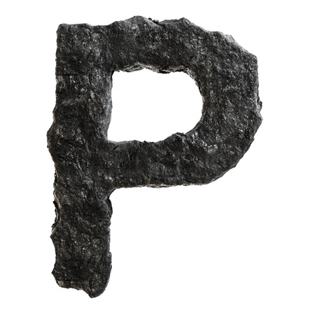 Coal font photo