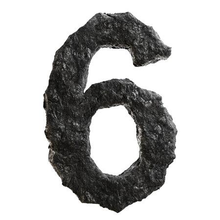 anthracite coal: Coal font Stock Photo
