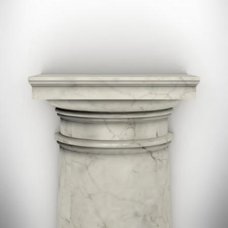 column isolated on white wall eps8 vector Stock Vector - 23676822