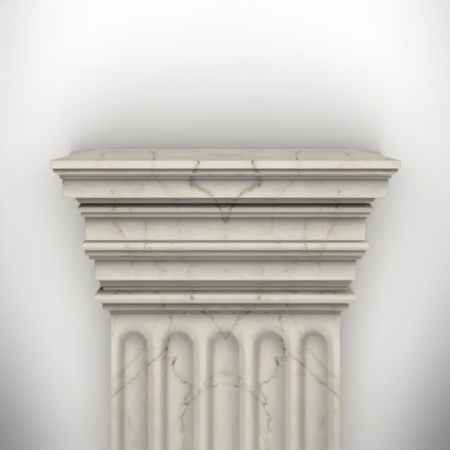 column isolated on white wall eps8 vector Stock Vector - 23676821