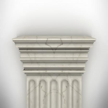 column isolated on white wall eps8 vector Stock Vector - 23676821