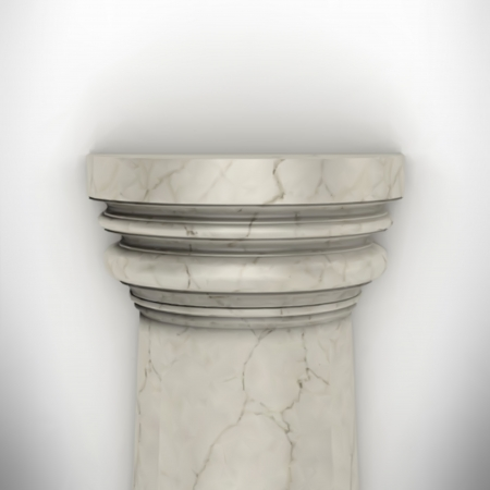 column isolated on white wall eps8 vector Stock Vector - 23676823