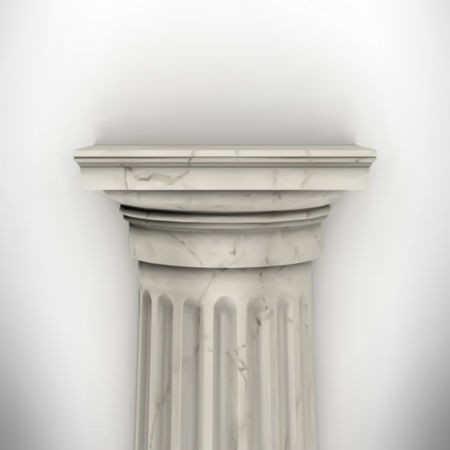 column isolated on white wall eps8 vector Stock Vector - 23676824