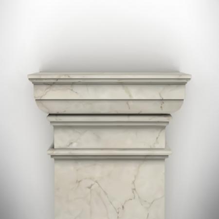column isolated on white wall eps8 vector Stock Vector - 23676826