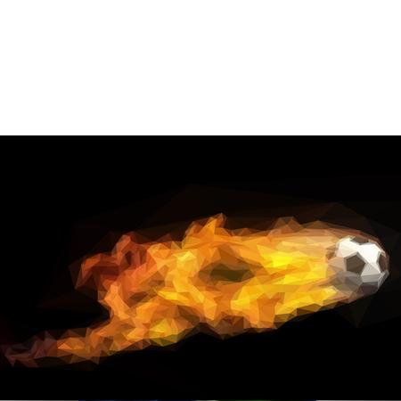 futbol soccer: fire ball soccer