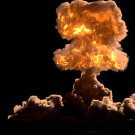 hydrogen bomb: nuclear bomb Illustration