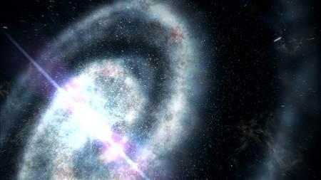 milkyway: galaxy space star 3d rendering