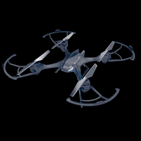 Drone quadrocopter. New tool for aerial photo and video