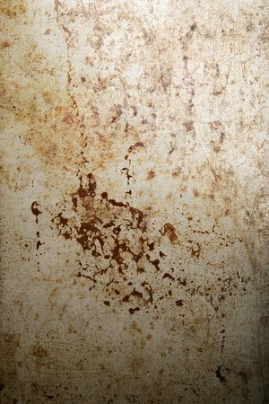 rusted and stained metal background texture Stock Photo