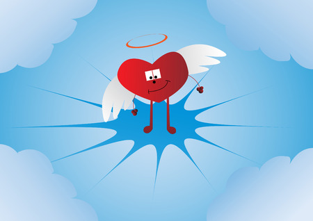 heart. Clip-art Vector