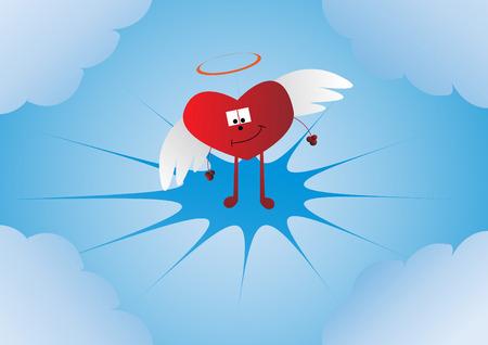 heart clipart:   heart. Clip-art Illustration