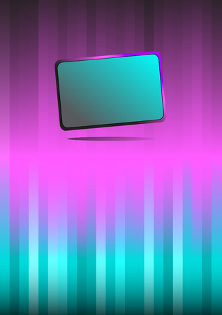 Abstract violet background. Clip-art Vector