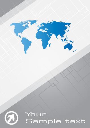 banco mundial: Tarjeta de visita. Im�genes predise�adas Vectores