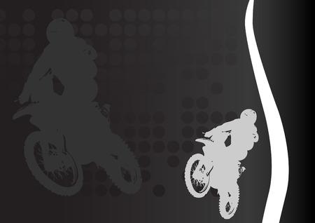 Racing vector. Clip-art Stock Vector - 8660582