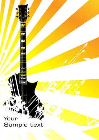 rock and: music background. Clip-art