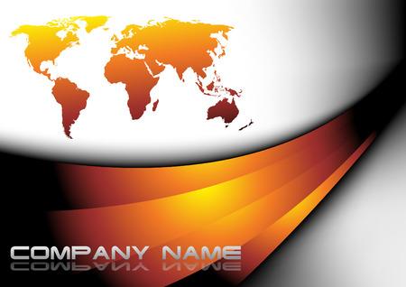 banco mundial: Tarjeta de presentaci�n. Clip art