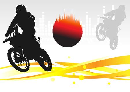 Racing . Clip-art Stock Vector - 8660684