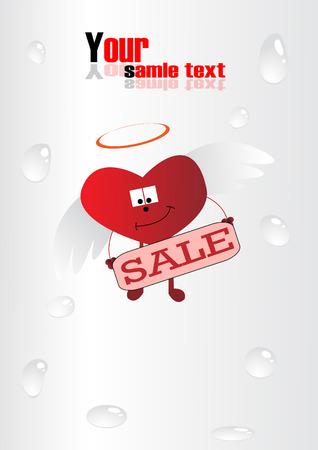 heart. Clip-art Stock Vector - 8660609