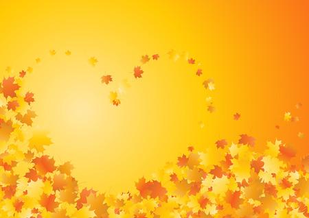 Autumn mood. Clip-art Stock Vector - 8660665