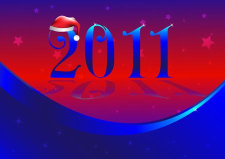 2011. Illustration. Clip-art Vector