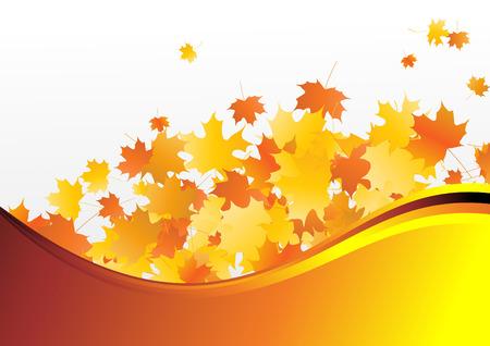 Mellow autumn. Clip-art Stock Vector - 8660646
