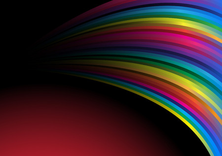 rainbow wallpaper. Clip-art Vector