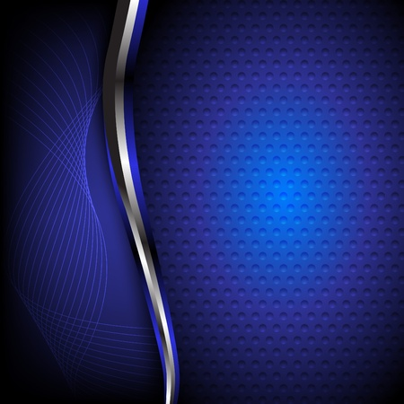 report cover design: Abstract blue background. Clip-art
