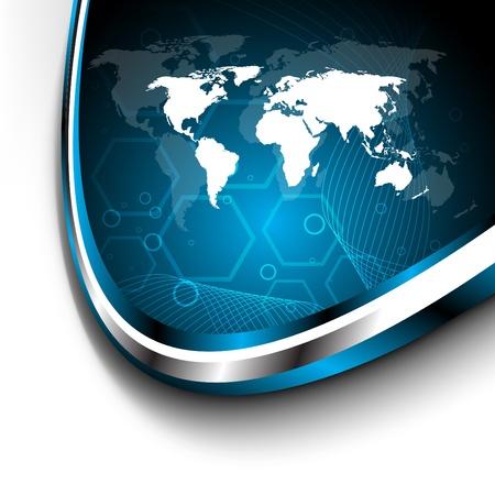 Bank Światowy: zestaw wizytówki. Obiekty clipart