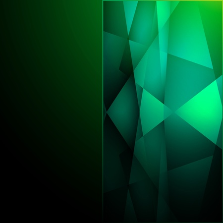 Abstract green background. Vector illustration. Clip-art