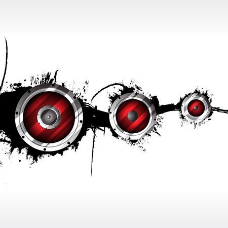 abstract music: Abstracte muziek achtergrond. Clip art